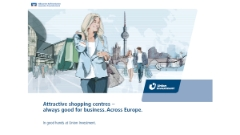 Attractive shopping centres – always good for business. Across Europe.